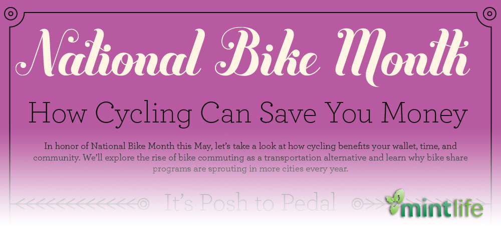 How Cycling Can Save You Money